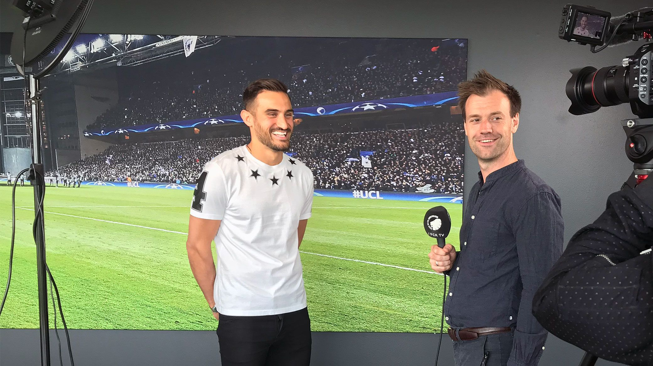 Sotirios Papagiannopoulos interview med FCK TV