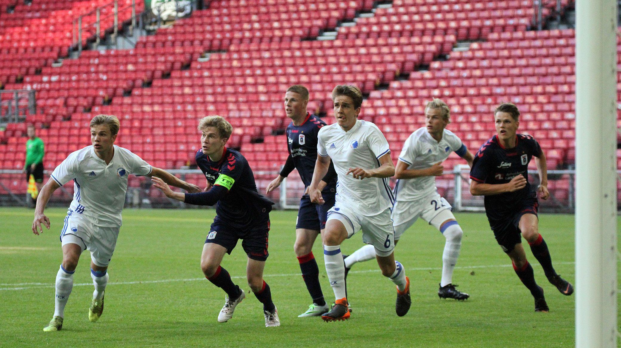 Fck U19 Team In Inaugural Baltic Sea Cup Fc København
