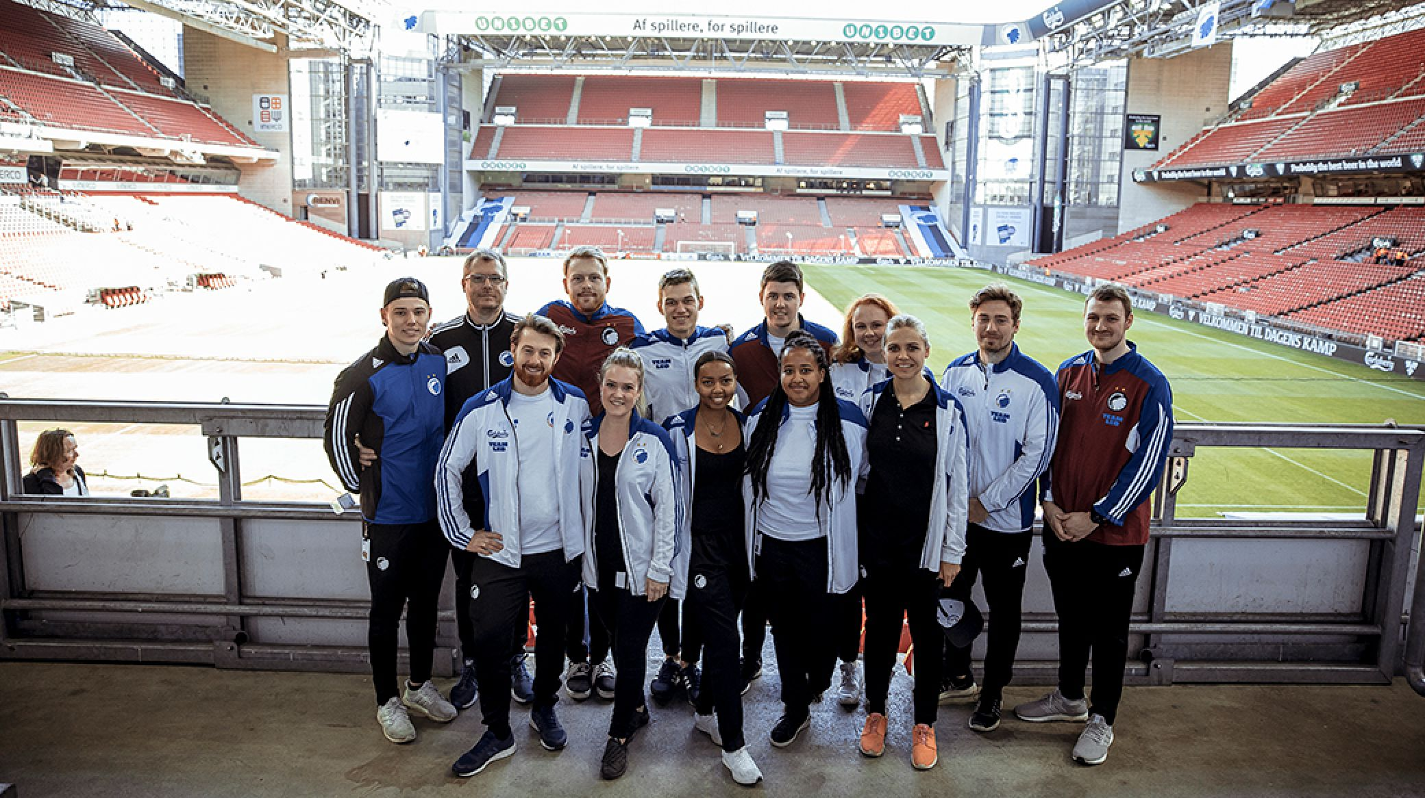 Meet Team Leo At The Dfds Family Stand Fc København
