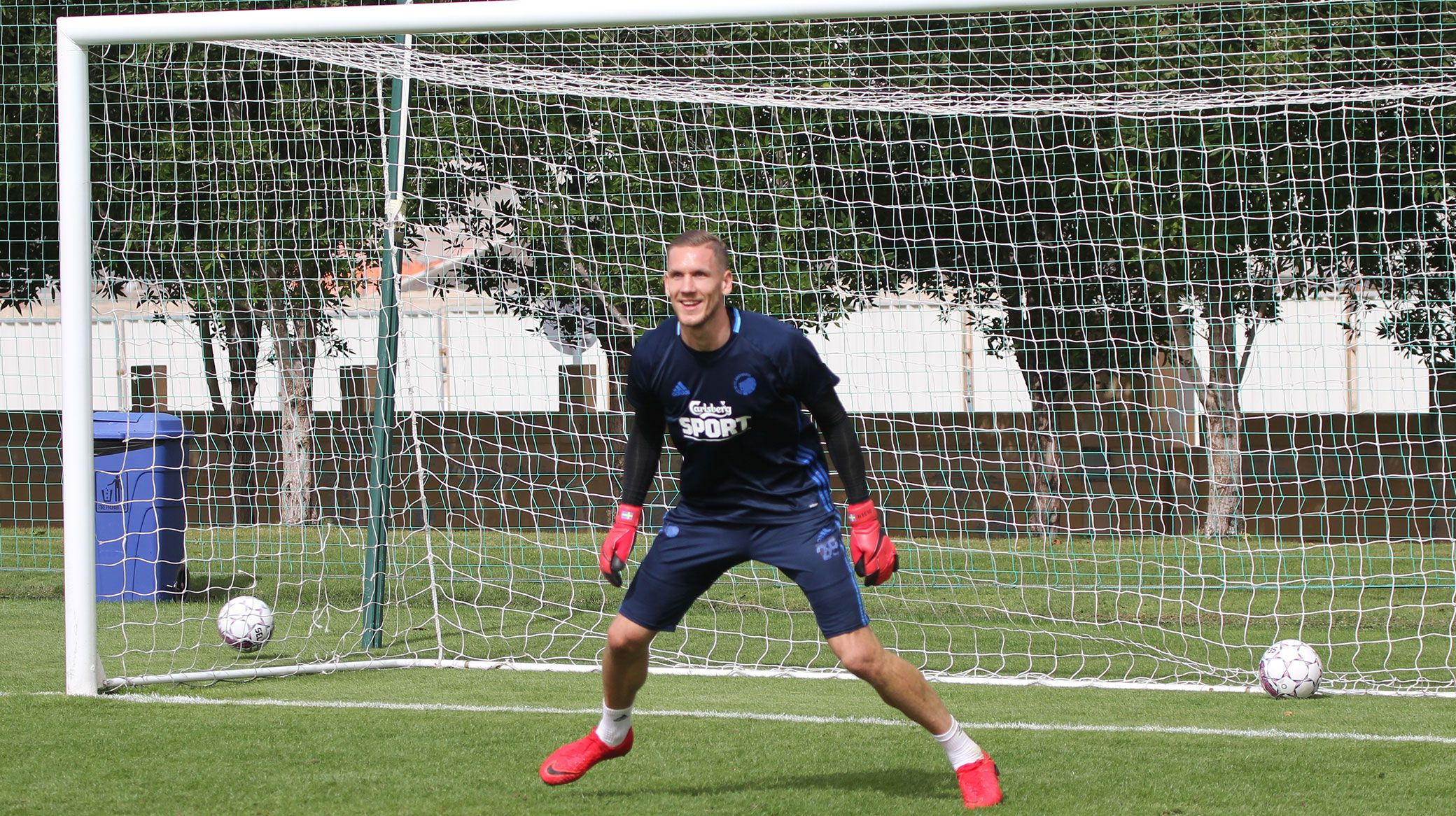 Robin olsen back in full training f c k benhavn for Robin olsen squadre attuali