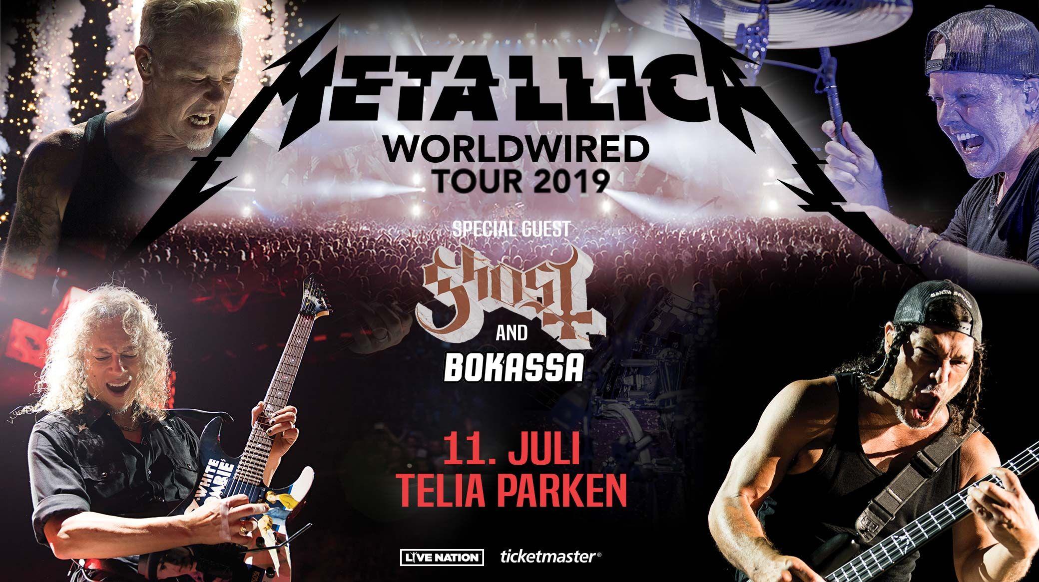 Buy Metallica tickets for 2019 in Copenhagen | F C  København