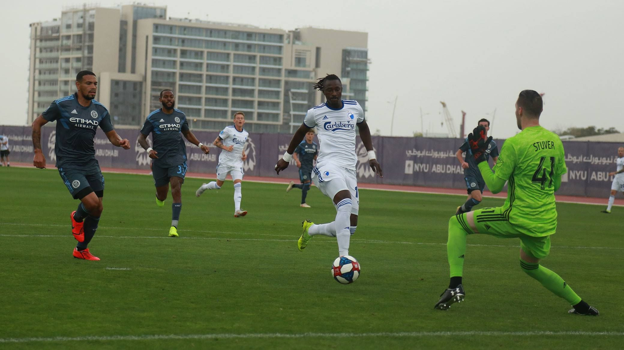 N'Doye misser en chance mod New York City FC