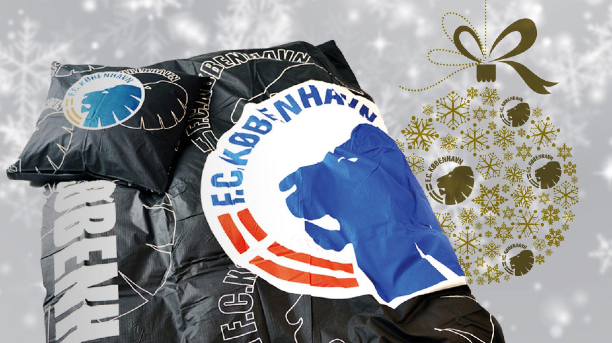 fck sengetøj Dagens julegavetip: Sengelinned med logo | F.C. København fck sengetøj