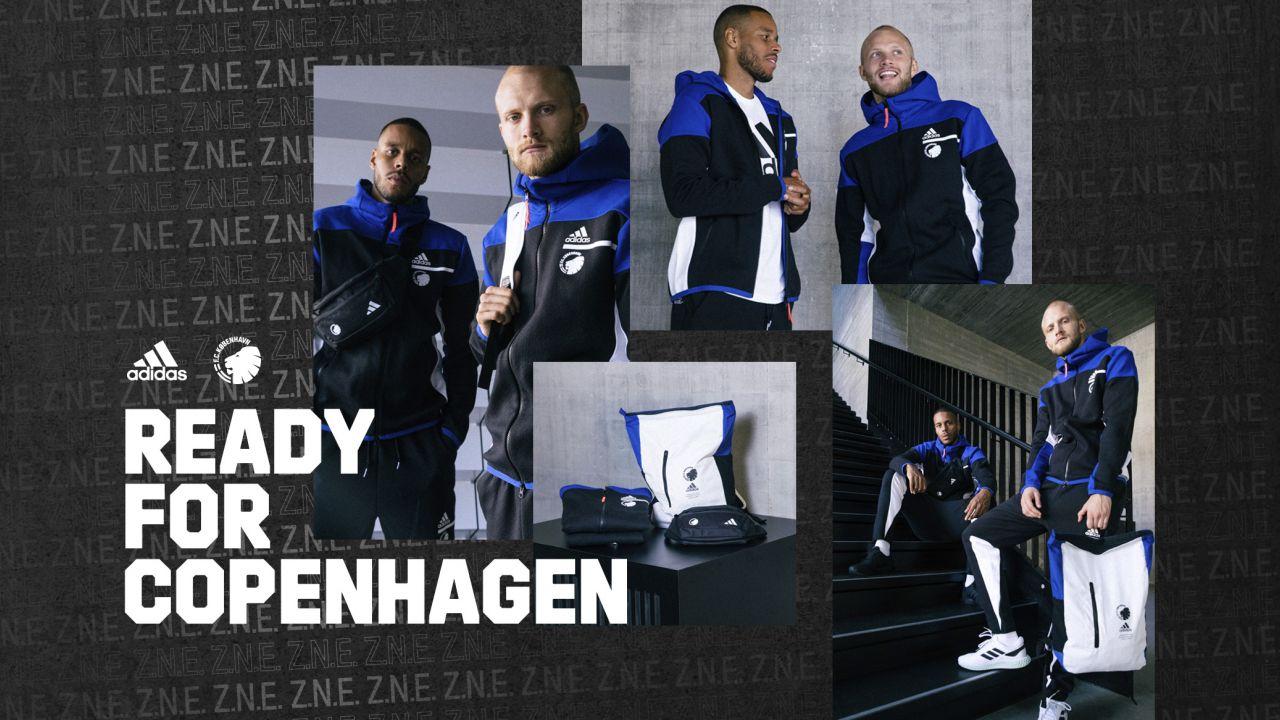 Ny adidas Z.N.E. kollektion i Fanshoppen