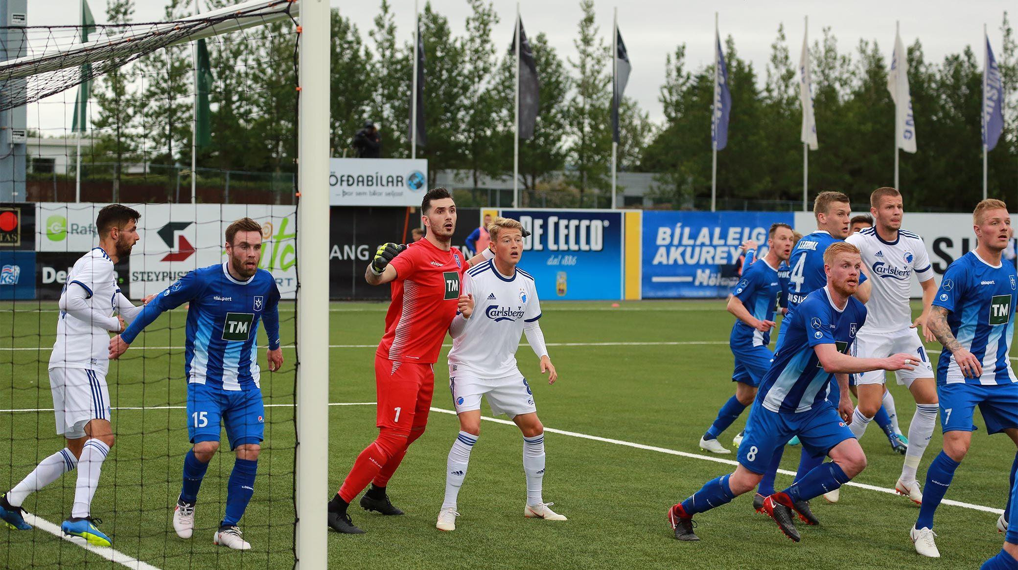 Stjarnan Fc Vs Fc København 0 2 2607 2018 2100 Uefa Europa