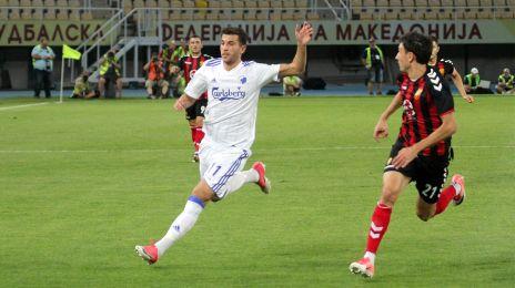 Pavlovic jagter bolden