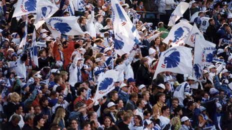 FCK-fans til pokalfinalen 1997