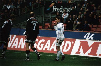 Ståle Solbakken og Peter Nielsen