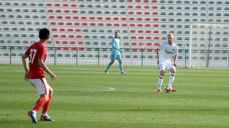 Vores anden kamp på turen til Dubai endte 0-0