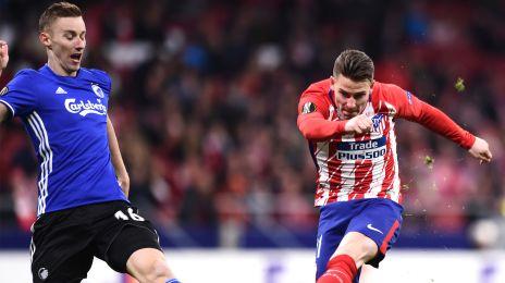 Kevin Gameiro bringer Atlético foran 1-0
