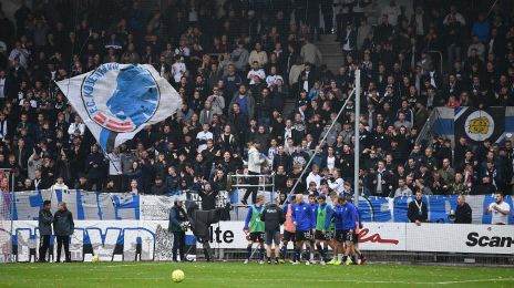 FCK-fansene i Vejle