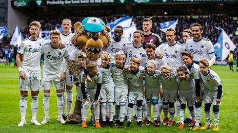 Indmarchbørn fra Boldklubben Hekla