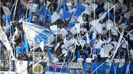FCK-fansene i Esbjerg
