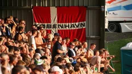 FCK-fansene i Oswestry