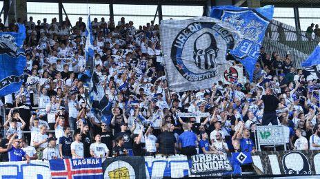 FCK-fansene i Horsens