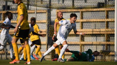 Jonas Wind har scoret til 1-0