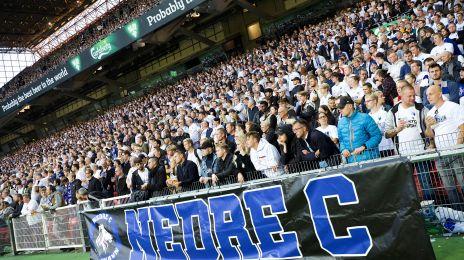 Fans på Nedre C