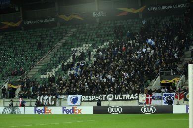 FCK-fansene i St. Gallen