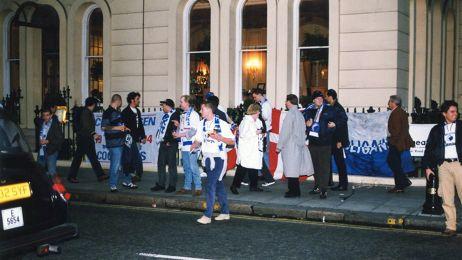 FCK-fans i London