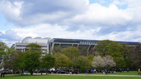 Parken set fra Fælledparken