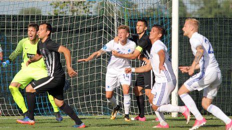 Action fra FK Partizan-FCK