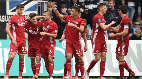 Jubel efter Pavlovics 2-0-mål