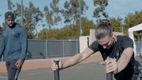 Erik Johansson genoptræner i L.A.