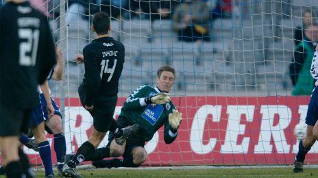 Bora Zivkovic scorer til 1-0 i Århus