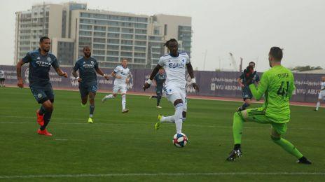N'Doye misser en chance mod New York City FC