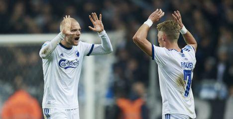 Nicolai Boilesen og Viktor Fischer