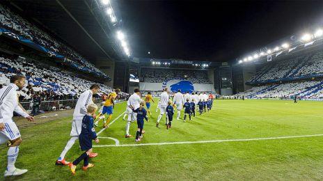 Tifo til FCK-Juventus i 2013