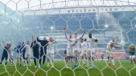 Jubel foran fansene