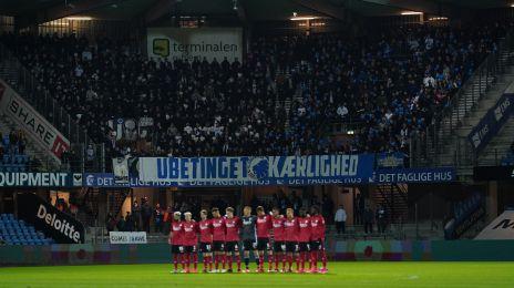 FCK-holdet foran fansene