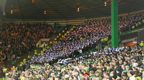 FCK-fansene i Glasgow