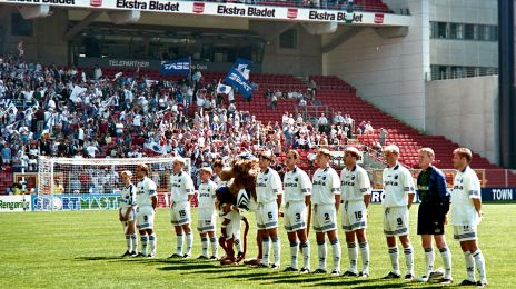 FCK's hold før pokalfinalen i 1995