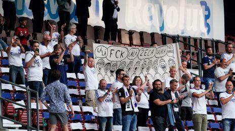 FCK-fans i Telia Parken