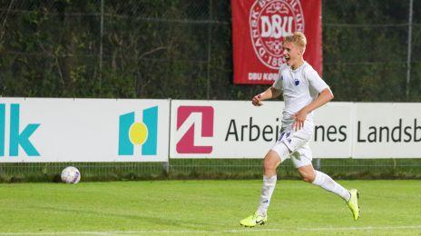 Hákon Arnor Haraldsson har slået sejren fast til 3-1