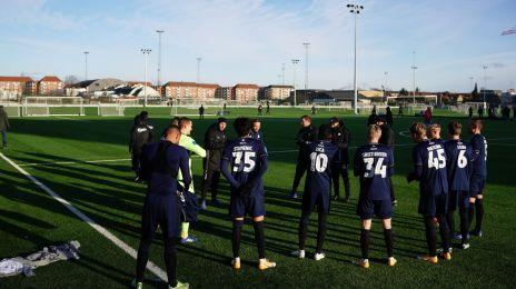 Træningskamp FCK-Hvidovre