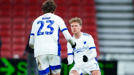 Jonas Wind og Viktor Fischer