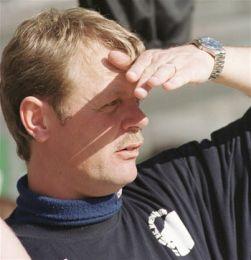 Kim Brink spejder efter flere mål...