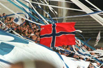 Norsk jubel ved Ståles mål til 1-0.
