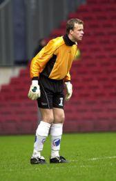 Thomas Myhres første kamp for FCK