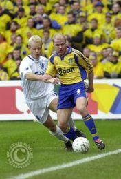 Thorninger jagter Magnus Svensson...