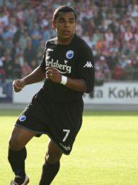 Álvaro spillede med Allbäck i angrebet