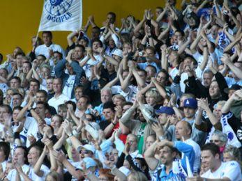 Glade fans efter sejren