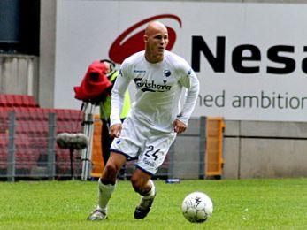 Jeppe Brandrup spillede højre back. © FCK.DK