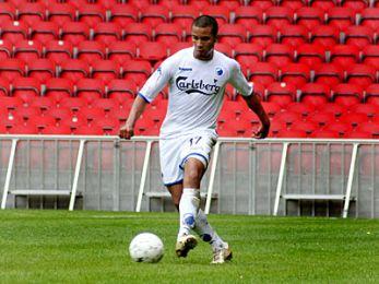 Jamil Fearrington med bolden. © FCK.DK