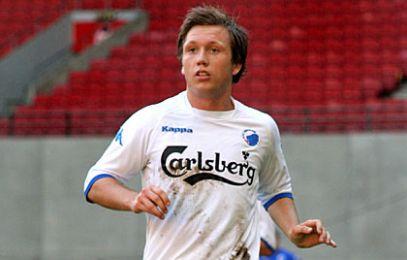 Mads Torry spillede venstre midtbane. © FCK.DK