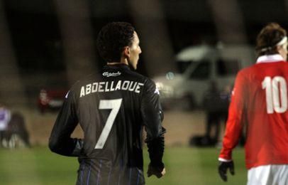 Mustafa Abdellaoue fik sin uofficielle debut mod Kalmar FF. Foto: FCK.dk