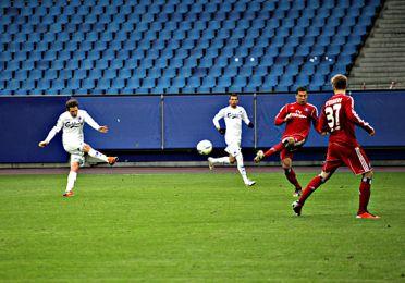 Morten Nordstrand lavede to mål i dagens kamp. Foto: FCK.dk